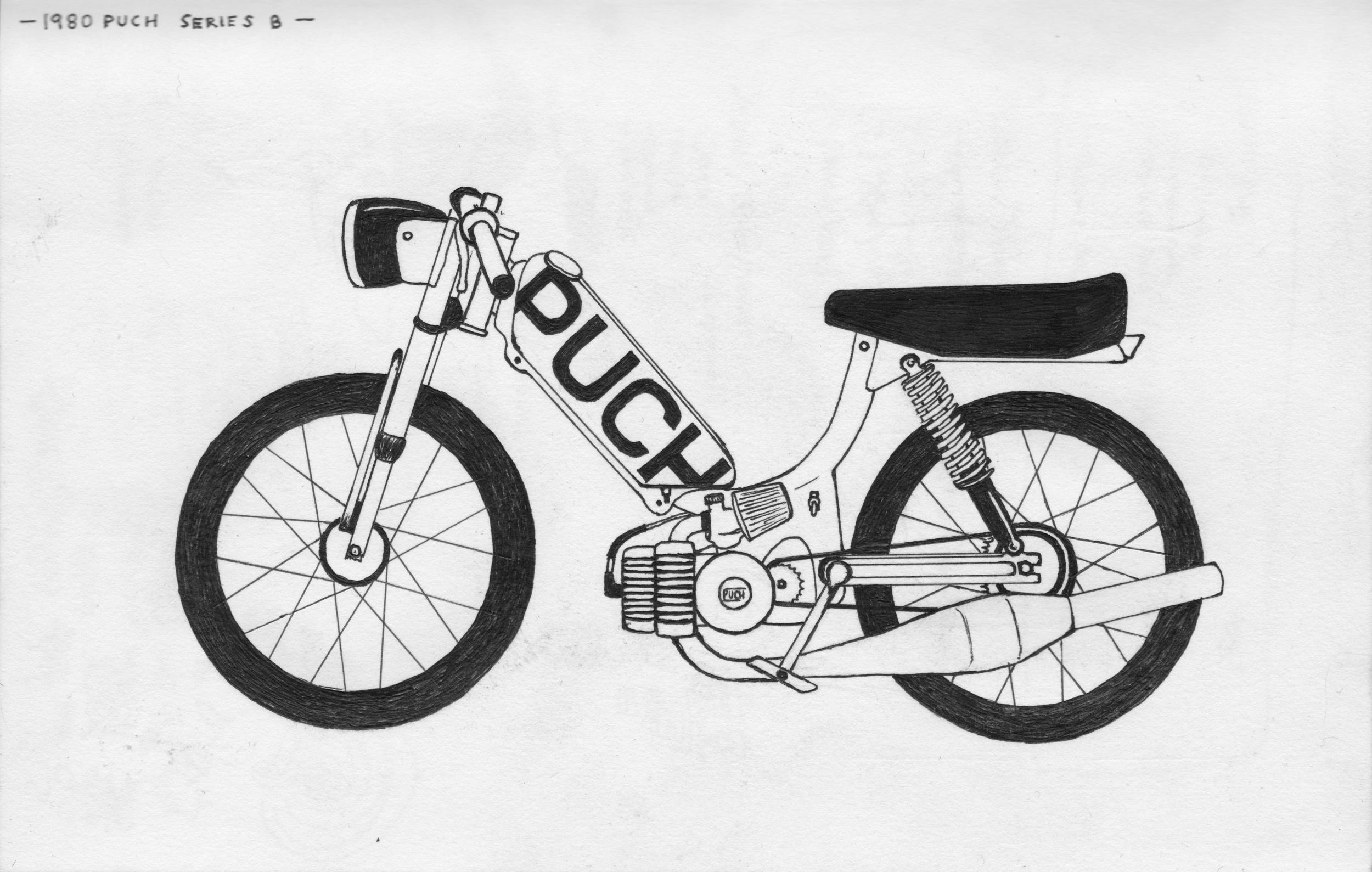 1980 Puch Series B