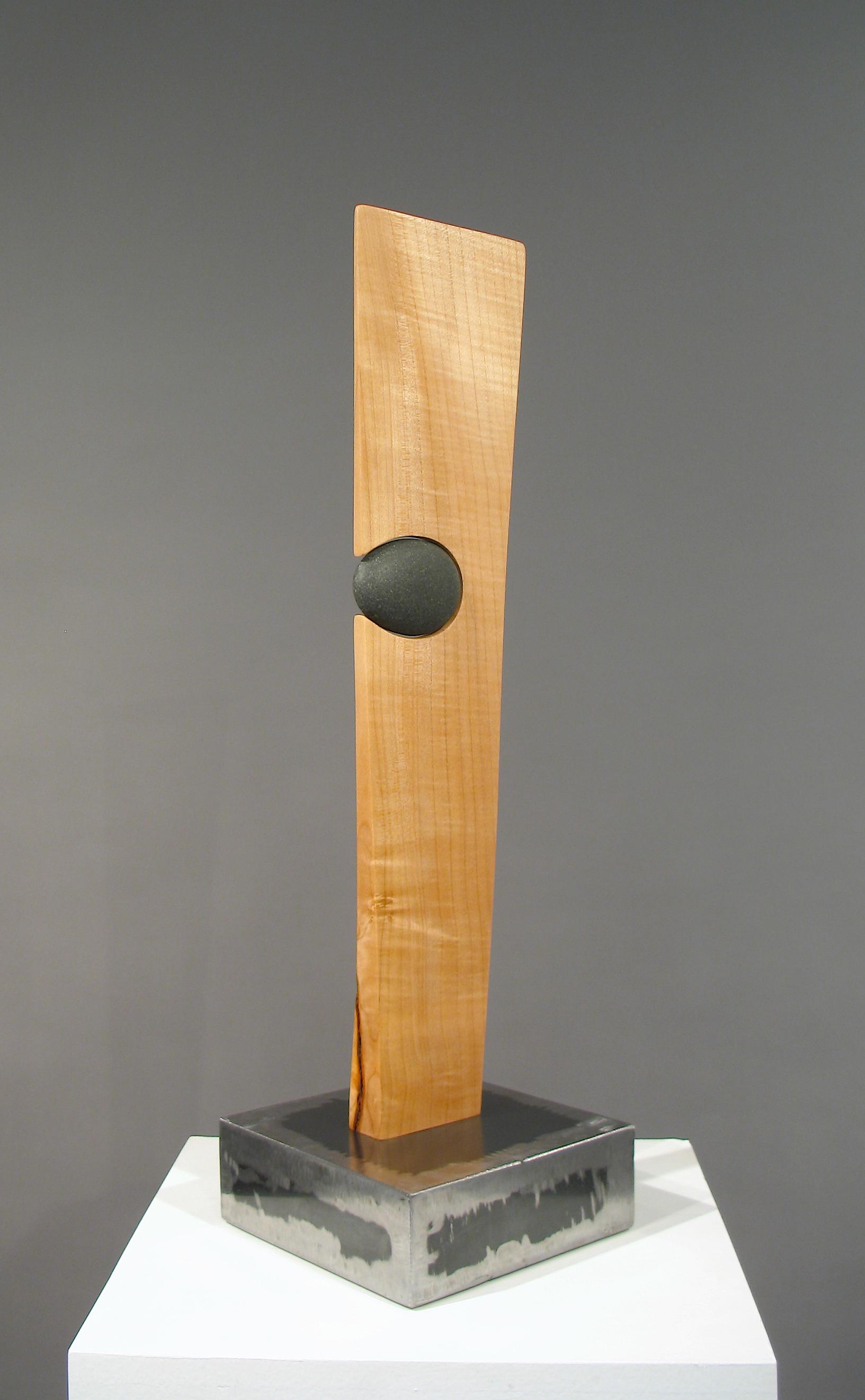 Emphasis  welded steel, wood, rock  SOLD