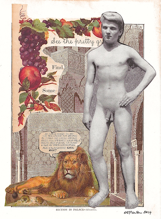Call Boy (Pride)   collage    6.75 x10""