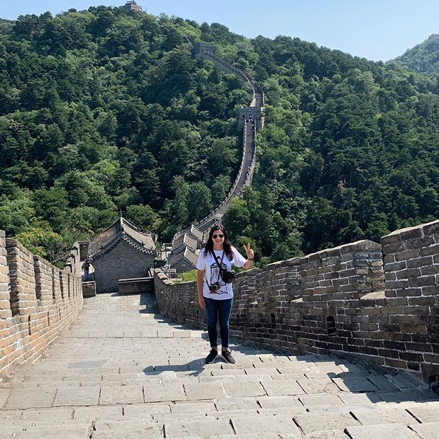 The Great Wall... tourist game strong.