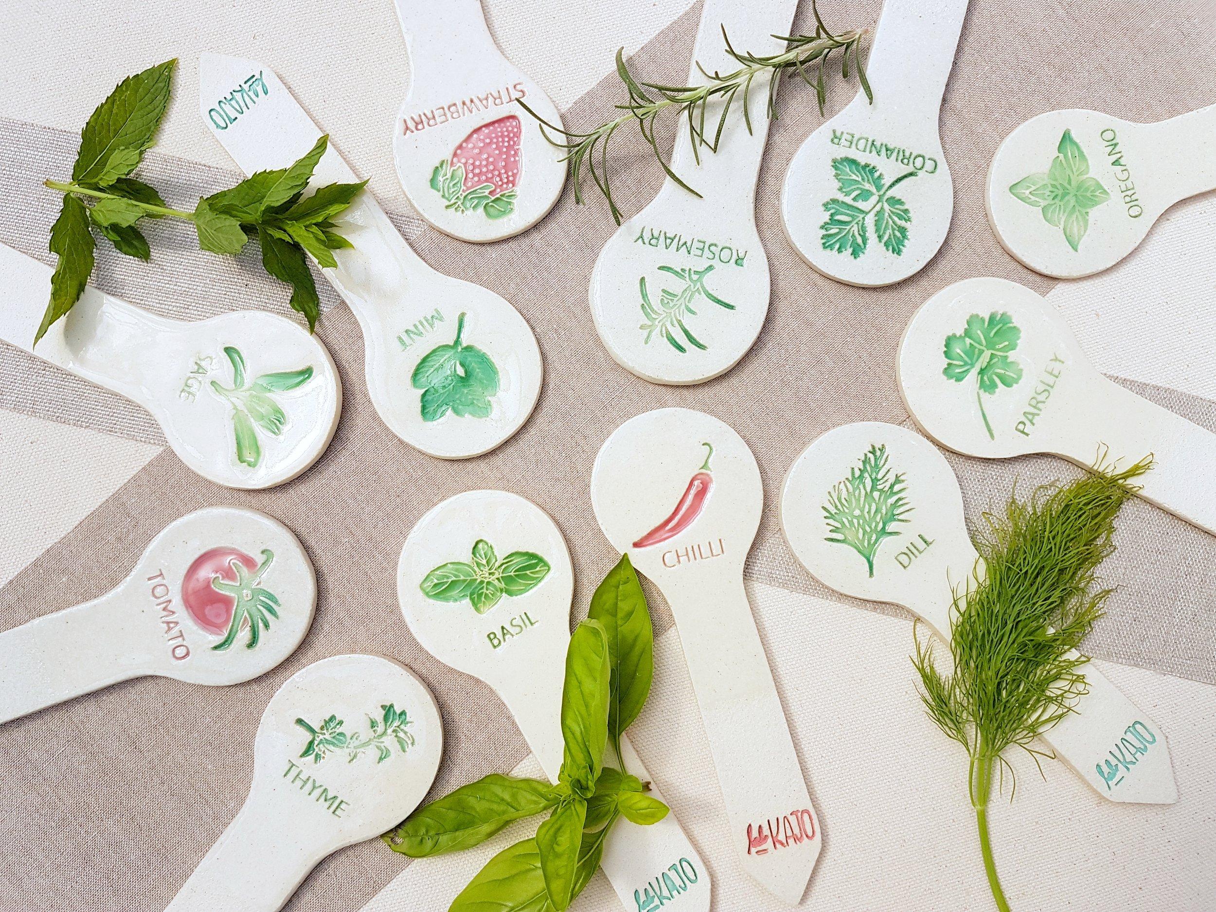 Lab KAJO Herb and Vegetable Planter Sticks