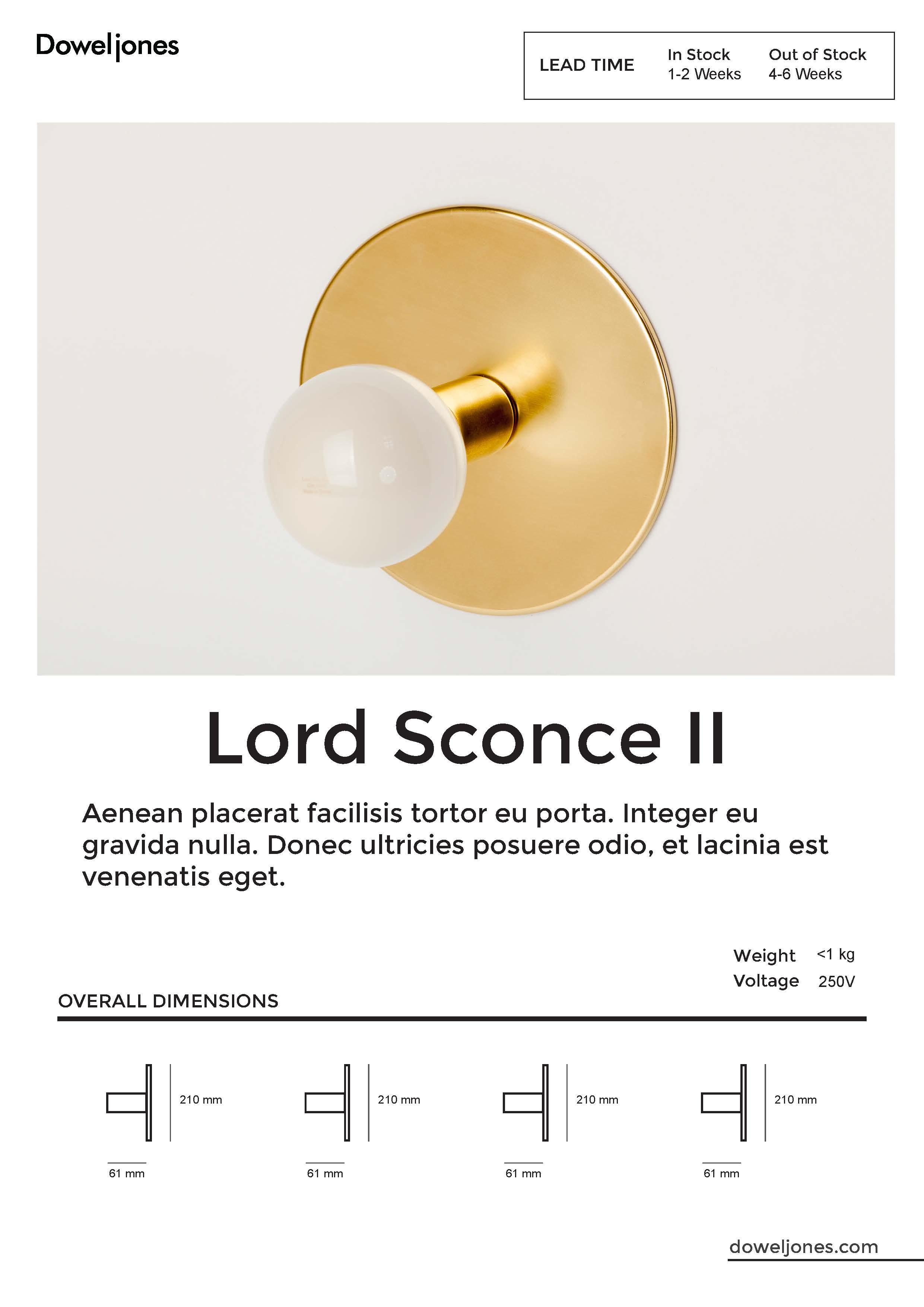 Light Data Sheet