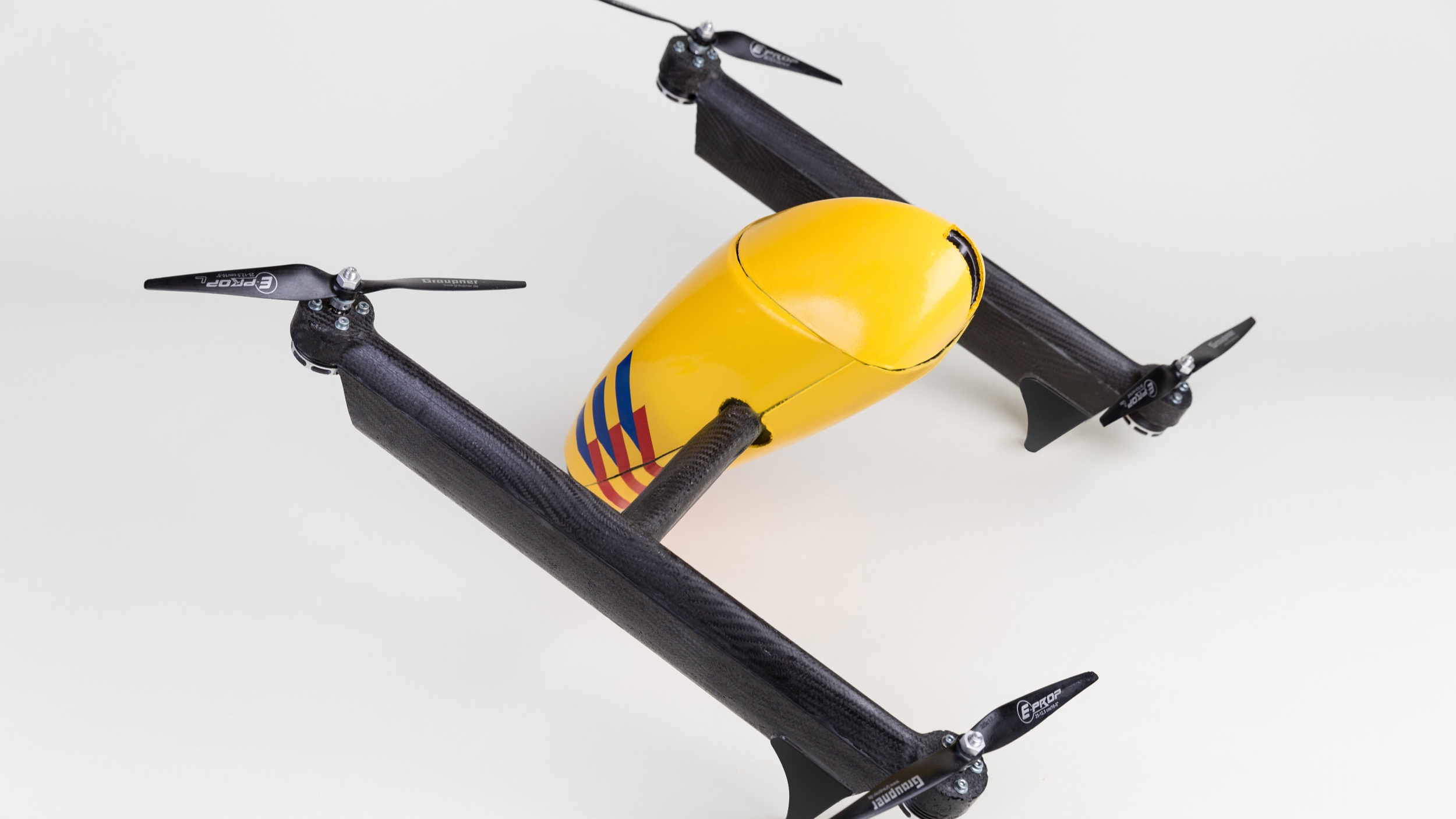 Ambulance Drone - second generation - advanced embodiment concept
