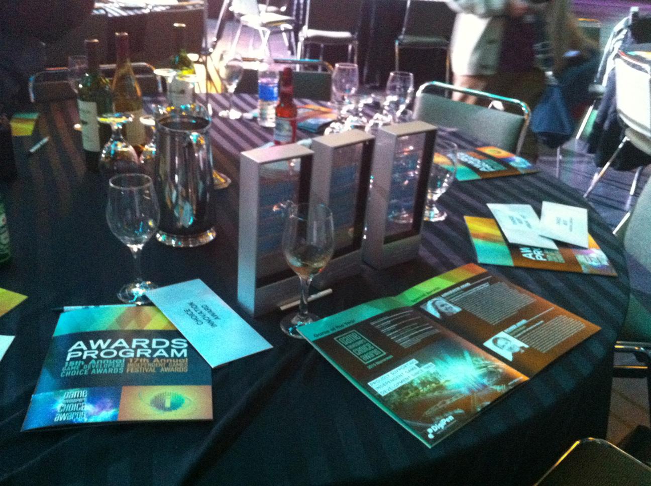 Three GDC Awards. Unbelievable.