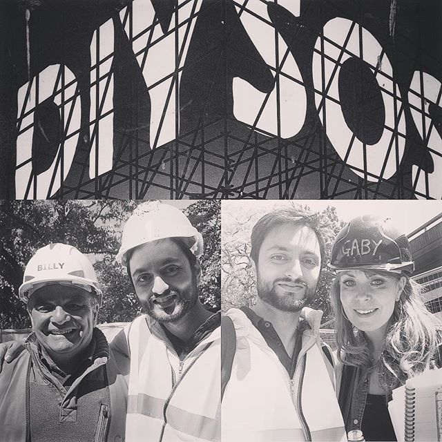 Loved being a part of this amazing project! Showing tonight on BBC @9pm ✨ #diysosbigbuild