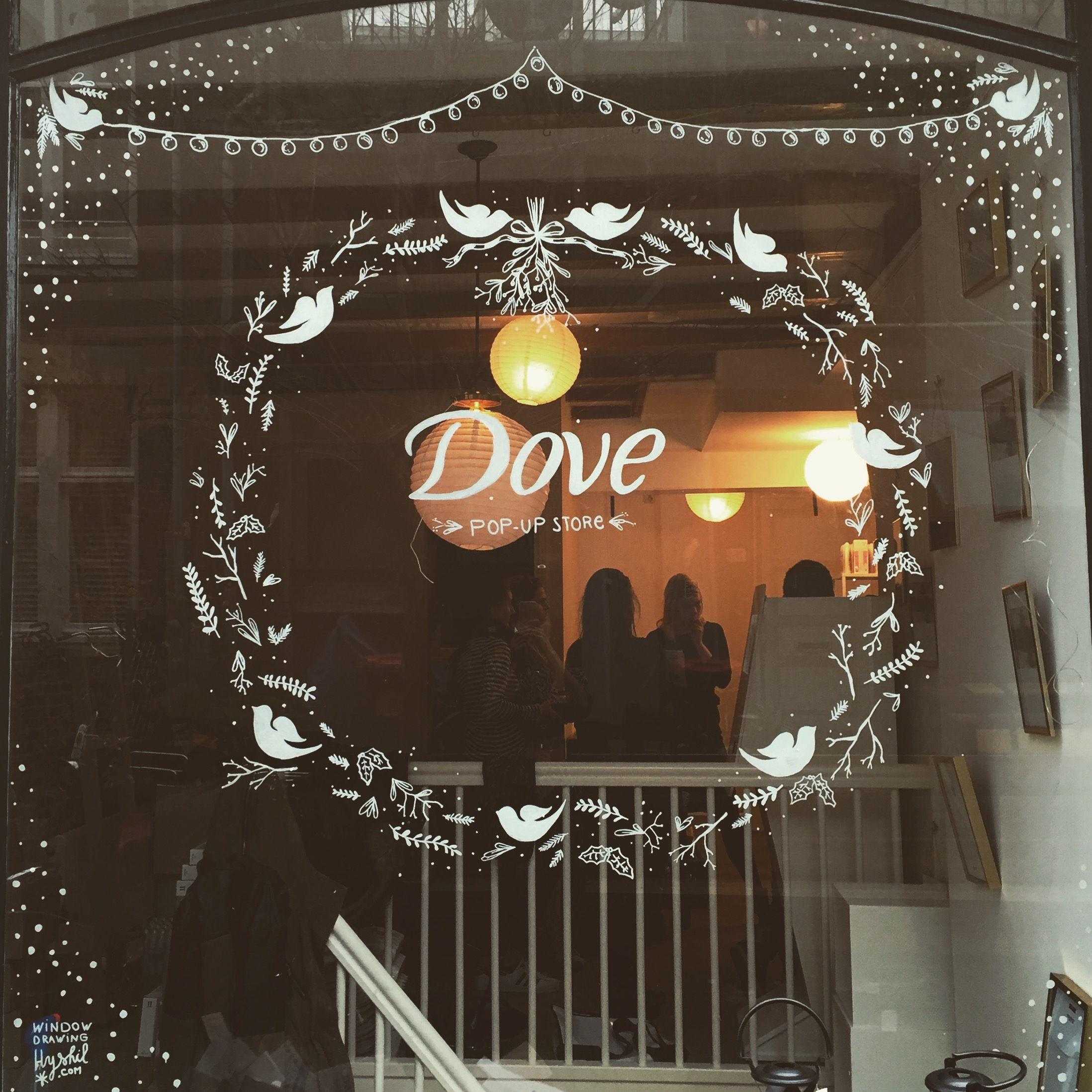 Dove pop-up store. Utrechtse Dwarsstraat 67.