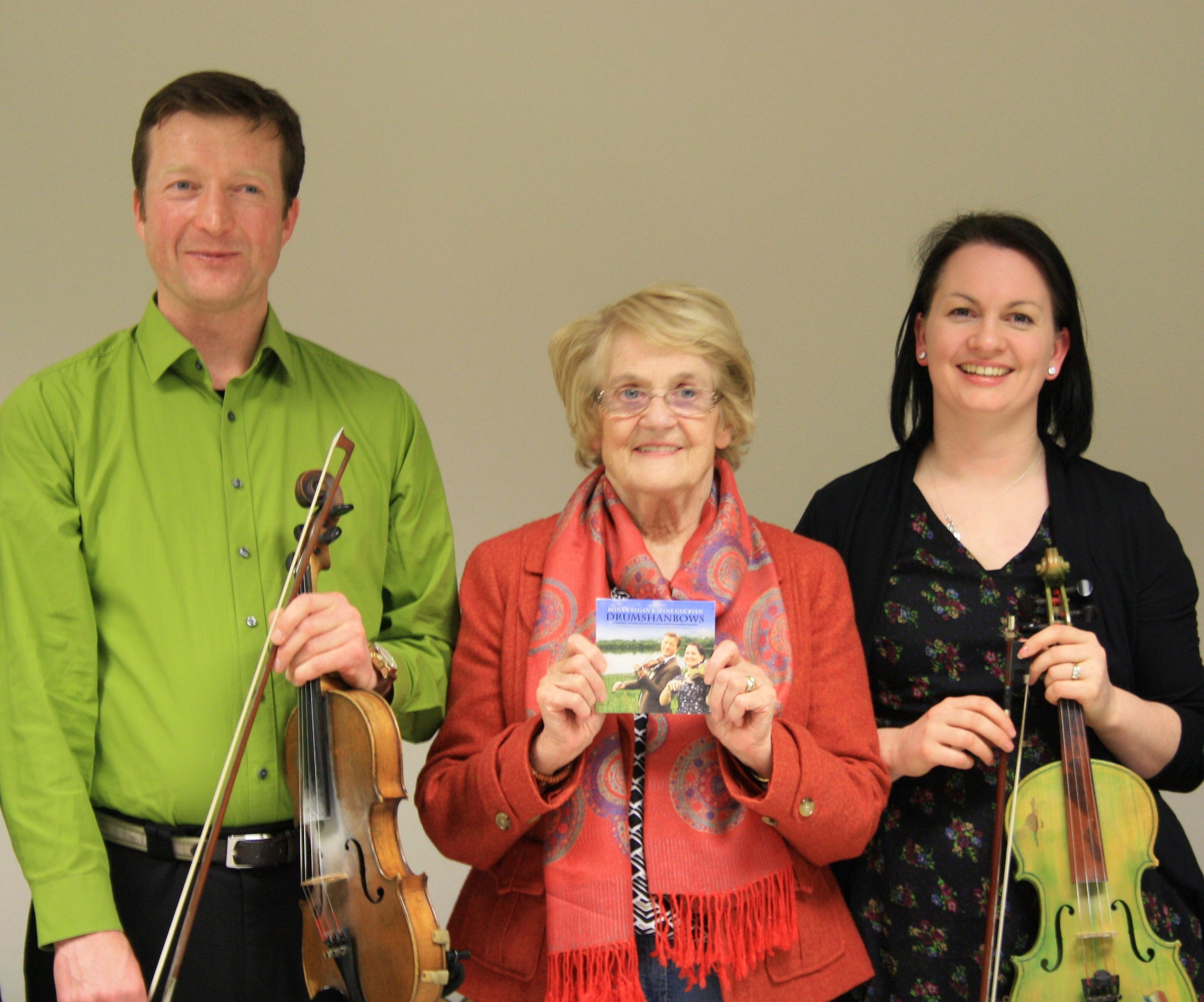 Launch of Drumshanbows by Nancy Woods