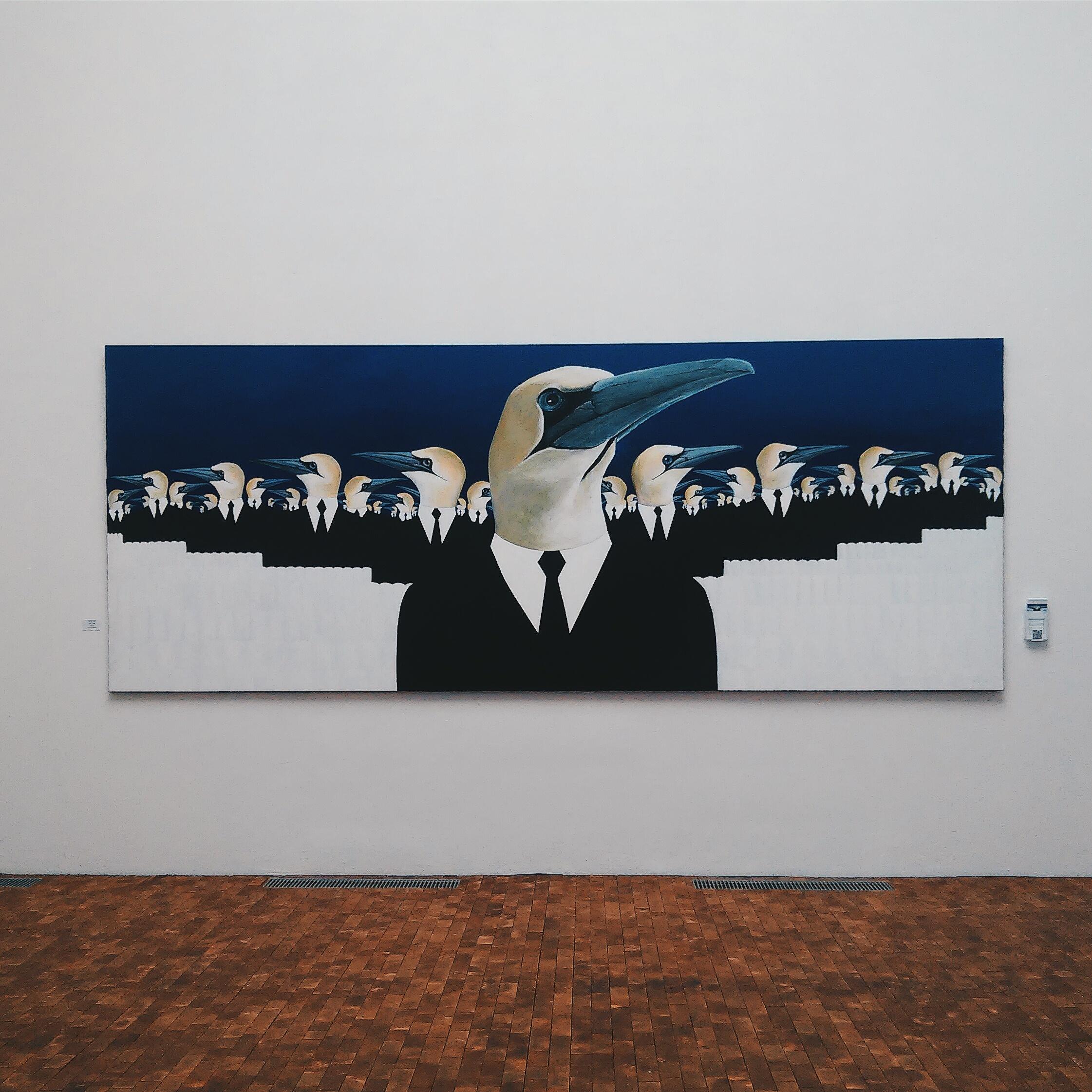 """Ο πίνακας """"Αποικία"""" του Έντβαρντ Φούγκλο"""