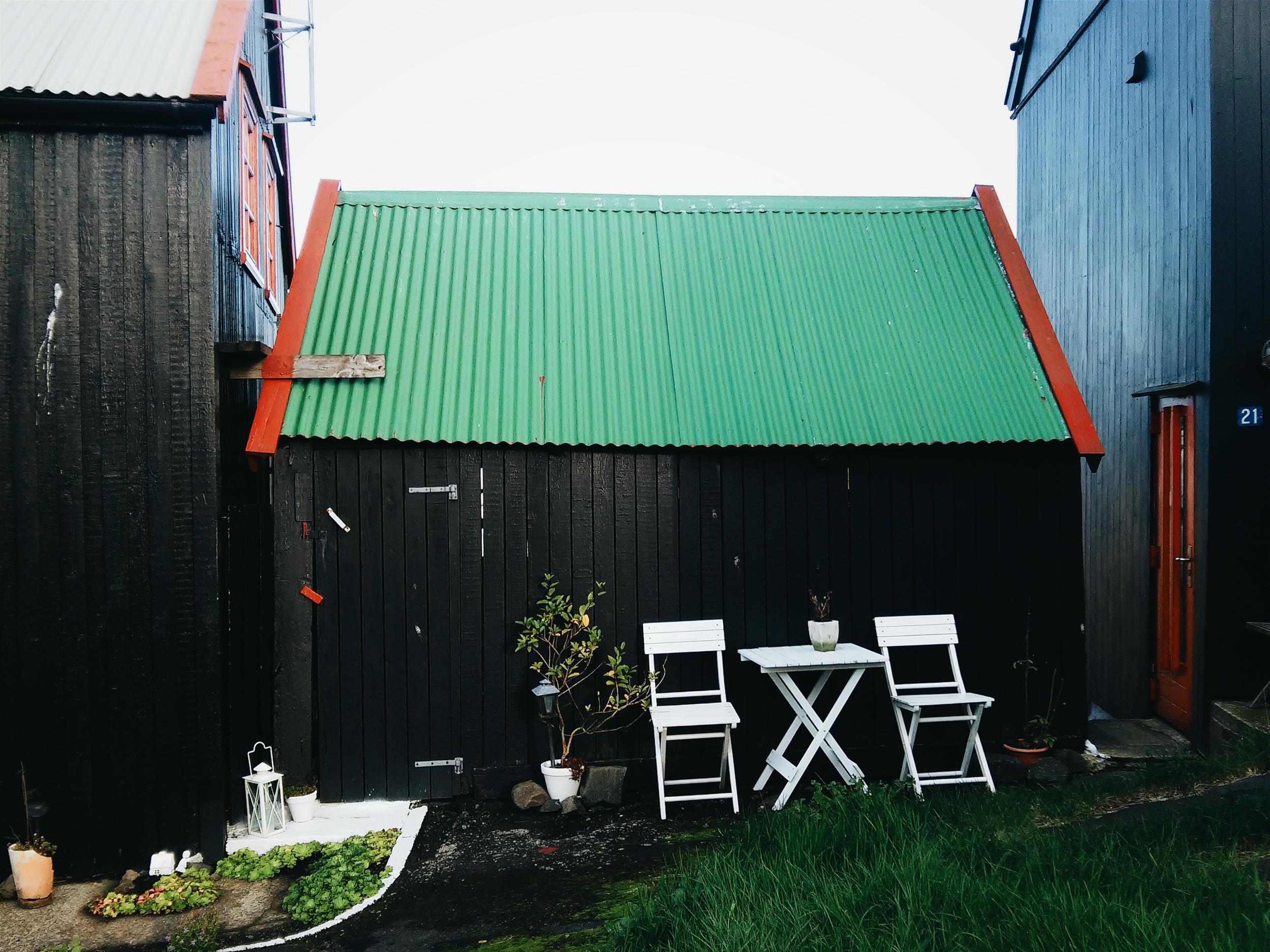 Τυπικό παράδειγμα φεροέζικου σπιτιού