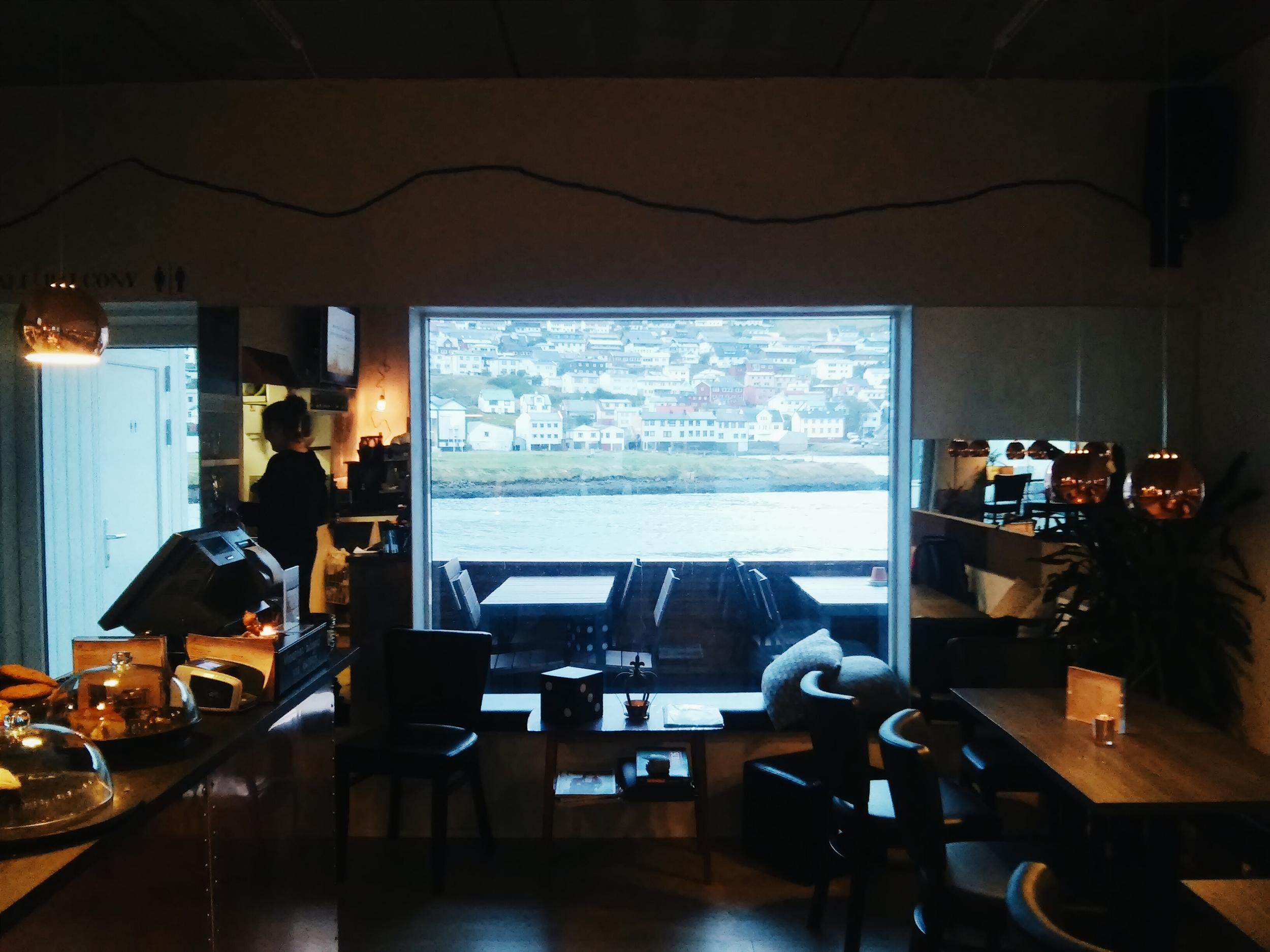 Το παράθυρο του καφέ