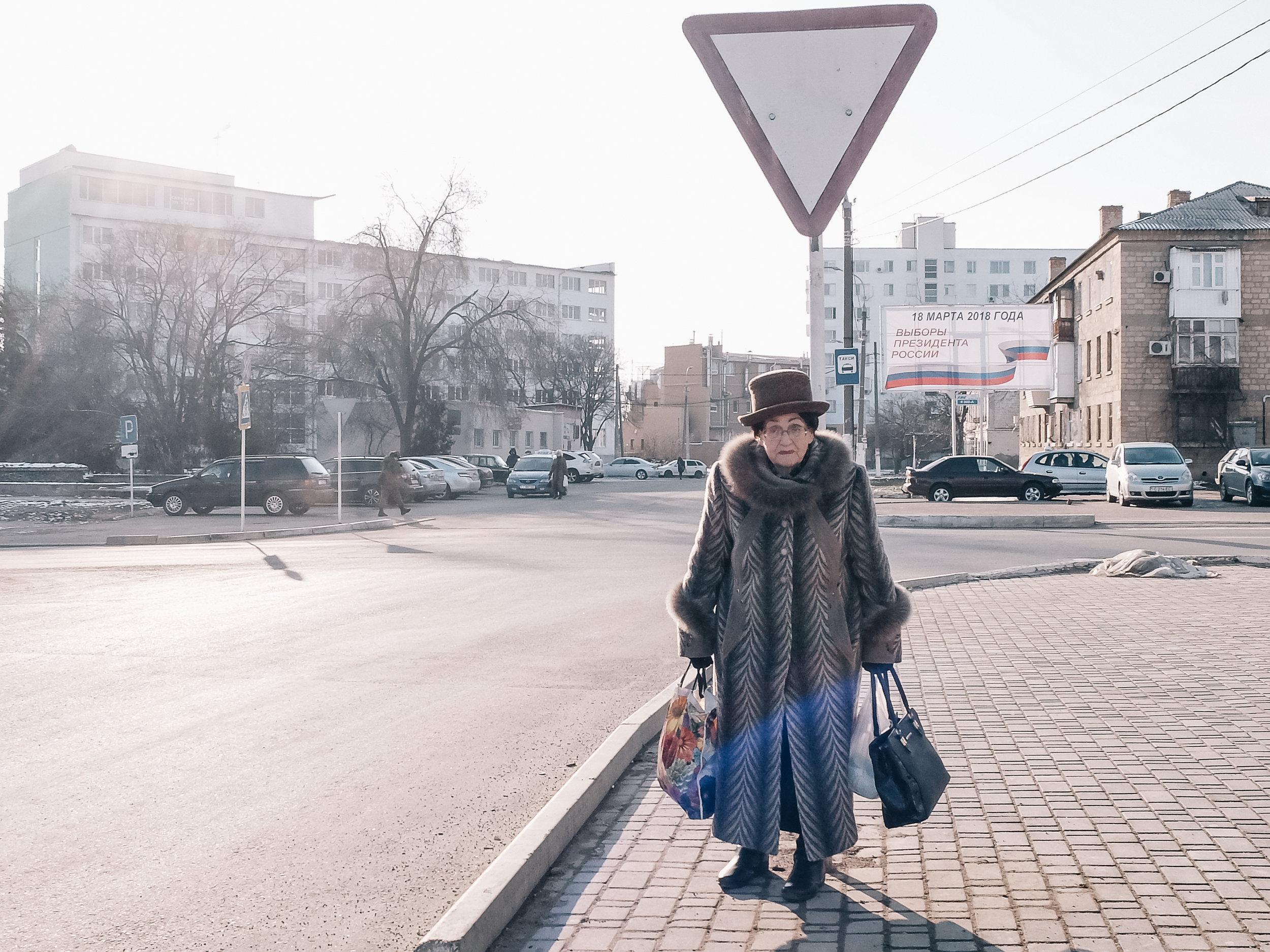 Μια γυναίκα στην Τιρασπόλ