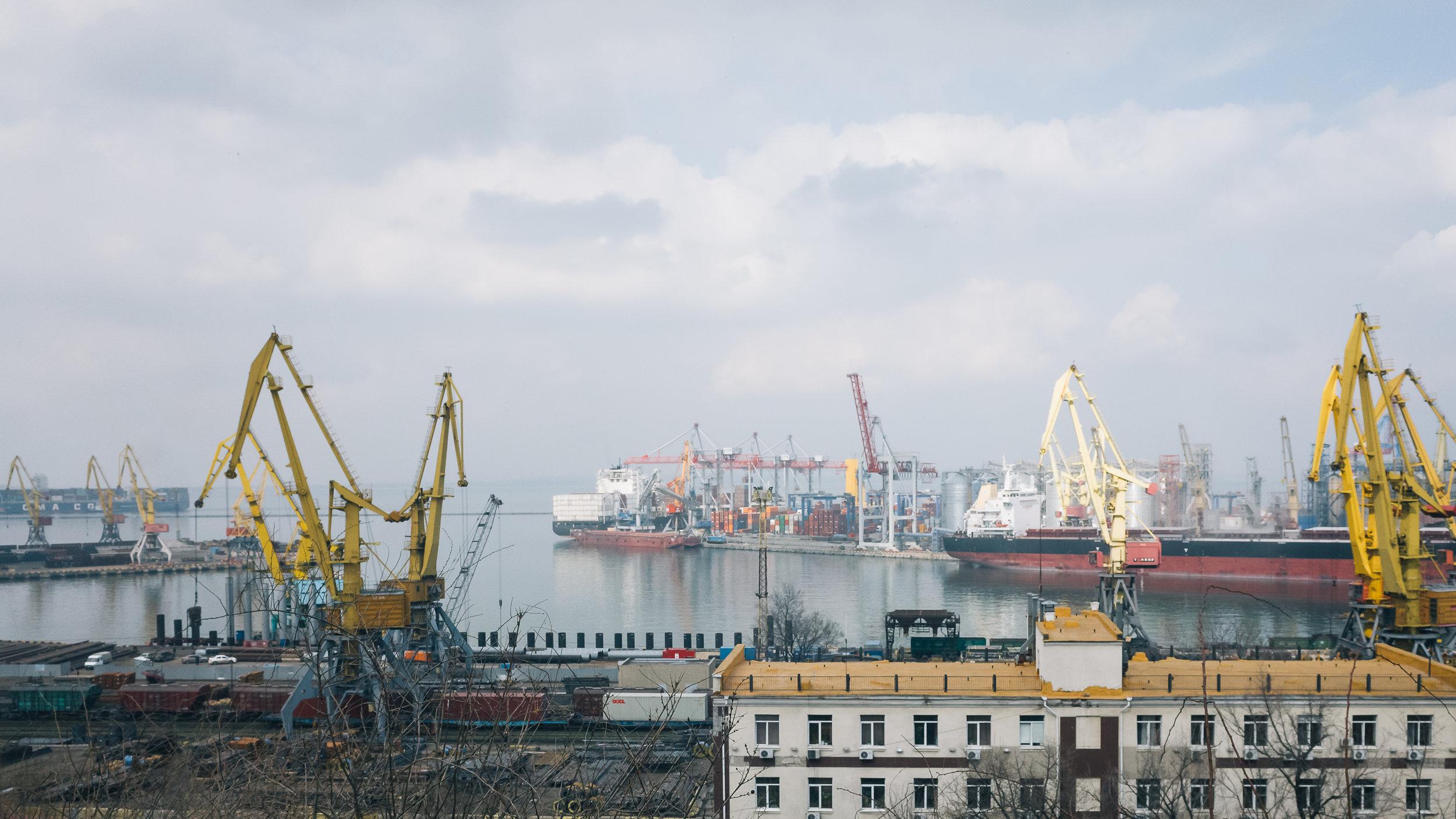Το λιμάνι της Οδησσού