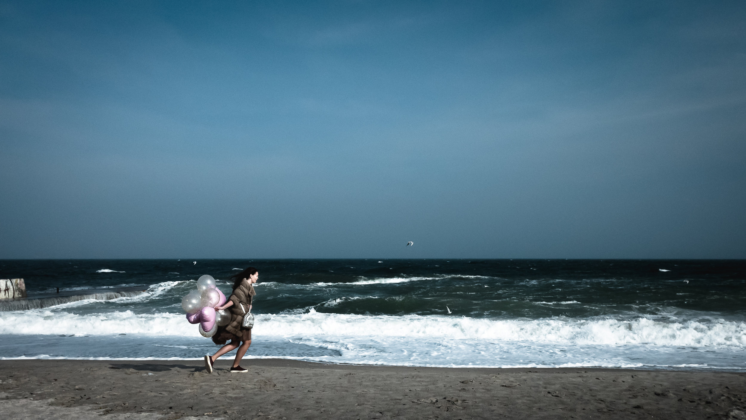 Στην παραλία Λανζερόν της Οδησσού