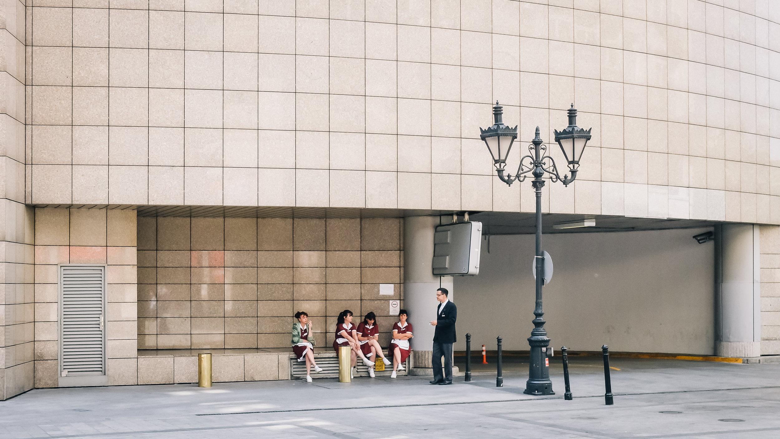 Μεσημεριανό διάλειμμα στους δρόμους της Βουδαπέστης