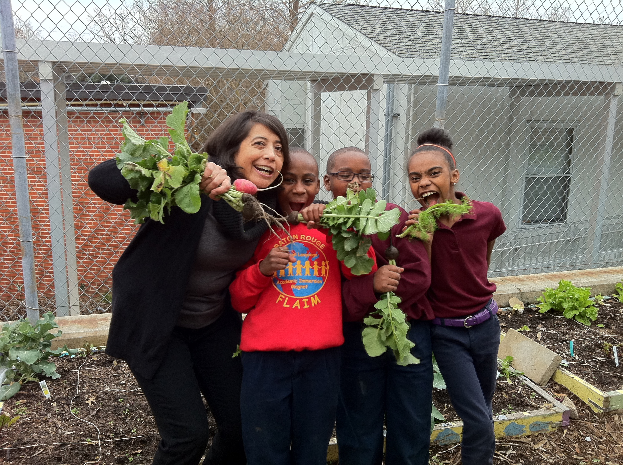 Greauxing  Healthy Baton Rouge,Slow Food Baton Rouge's Farm to School Pilot Program