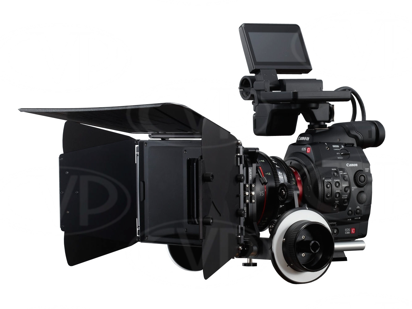 Canon C300  The Canon C300 EF is a full HD 35mm sensor camera with 50mbps recording capability   £120/day  with 4x32gb CF Cards including lenses