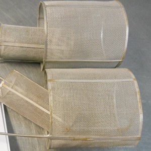 Photo of platinum rhodium electrode mesh, which Specialty Metals can recycle and refine for the best precious metal prices.