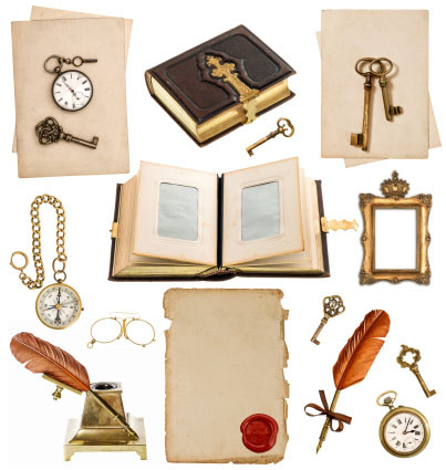 Shown: an assortment of antique gold, silver and platinum items that can be recycled profitably by Specialty Metals.