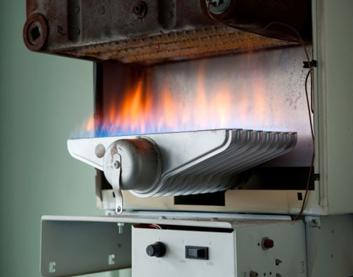 Shown: the kind of gas appliance that uses a thermocouple wire that contains valuable precious metals that can be recycled and refined.