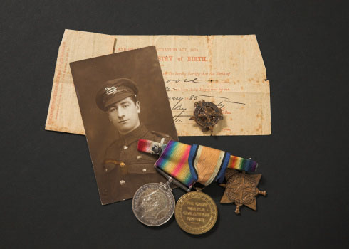 Commemorative medals like those in this picture may have more value as collector's items... but older medals frequently contain more precious metals, too.