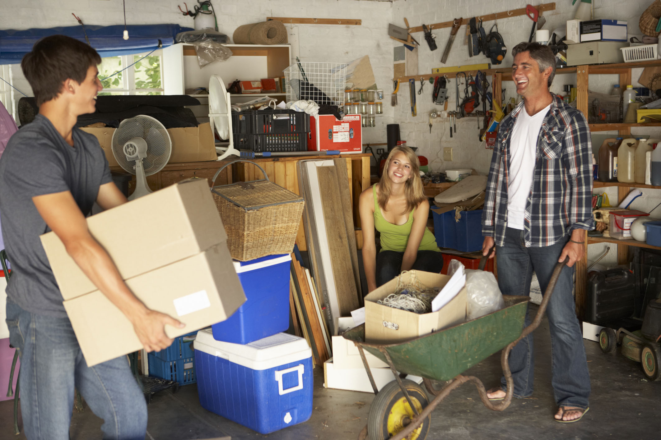 """Do you have """"stuff"""" lying around the house that you could recycle profitably with Specialty Metals Smelters & Refiners? Credit: Mark Bowden/iStock."""