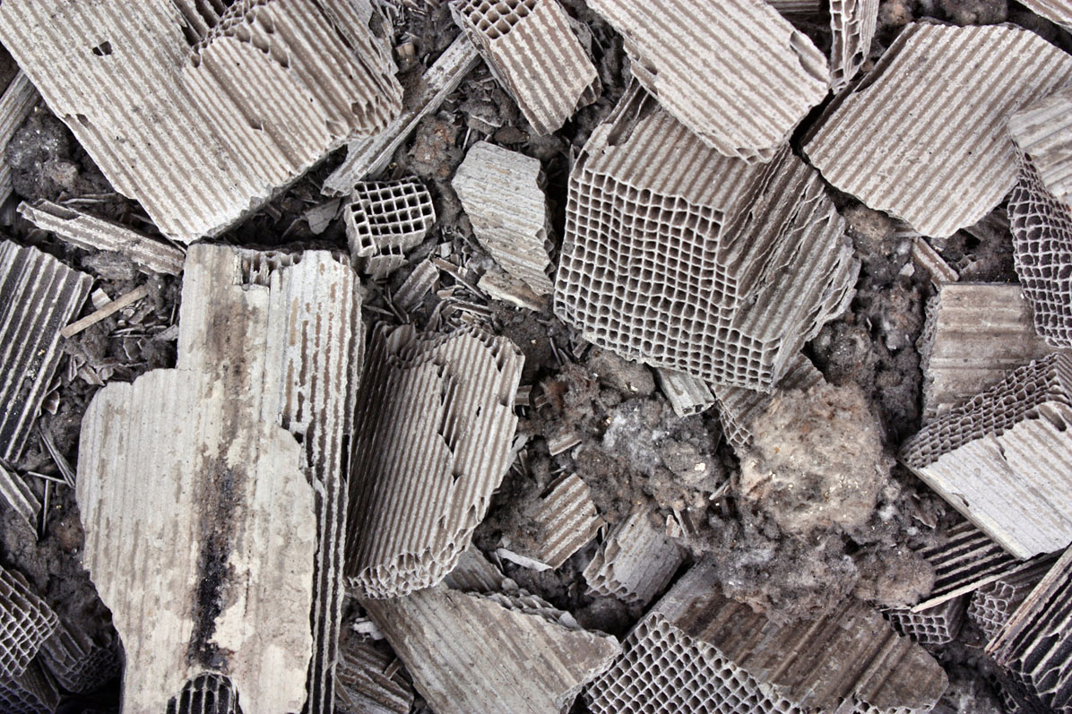Shown: scrap from the inside of Catalytic Converters, which Specialty Metals accepts for recycling in minimum lots of 500 units. Credit: Adam88xx/iStock.