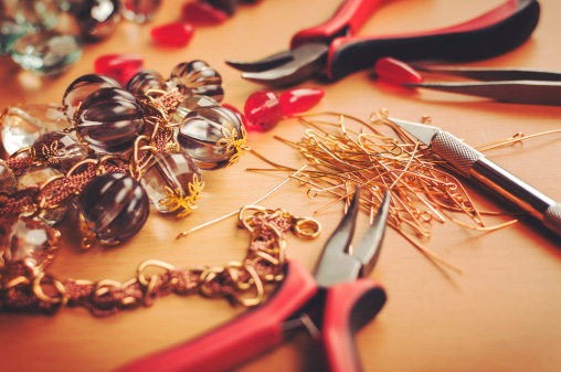 Shown: Jewelry findings like these could make for profitable recycling. Credit: bekisha/iStock.