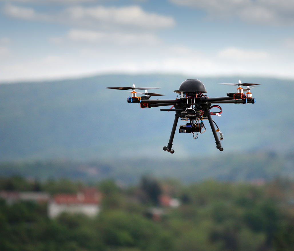 Photo of drones that gold treasure hunters are using to find gold and other precious metals. Credit: goce/istock.