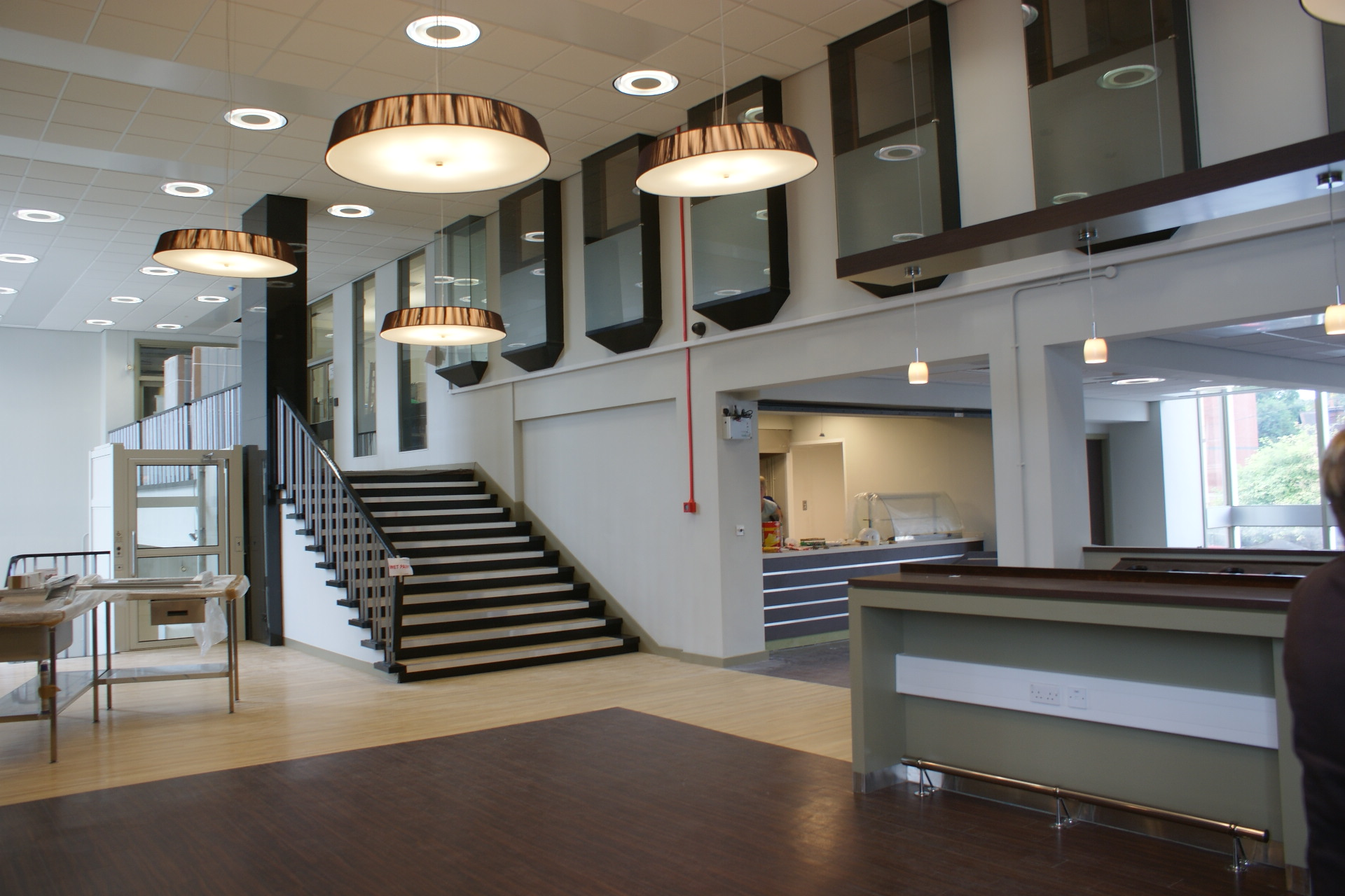 Engineering Building, Foyer & Café