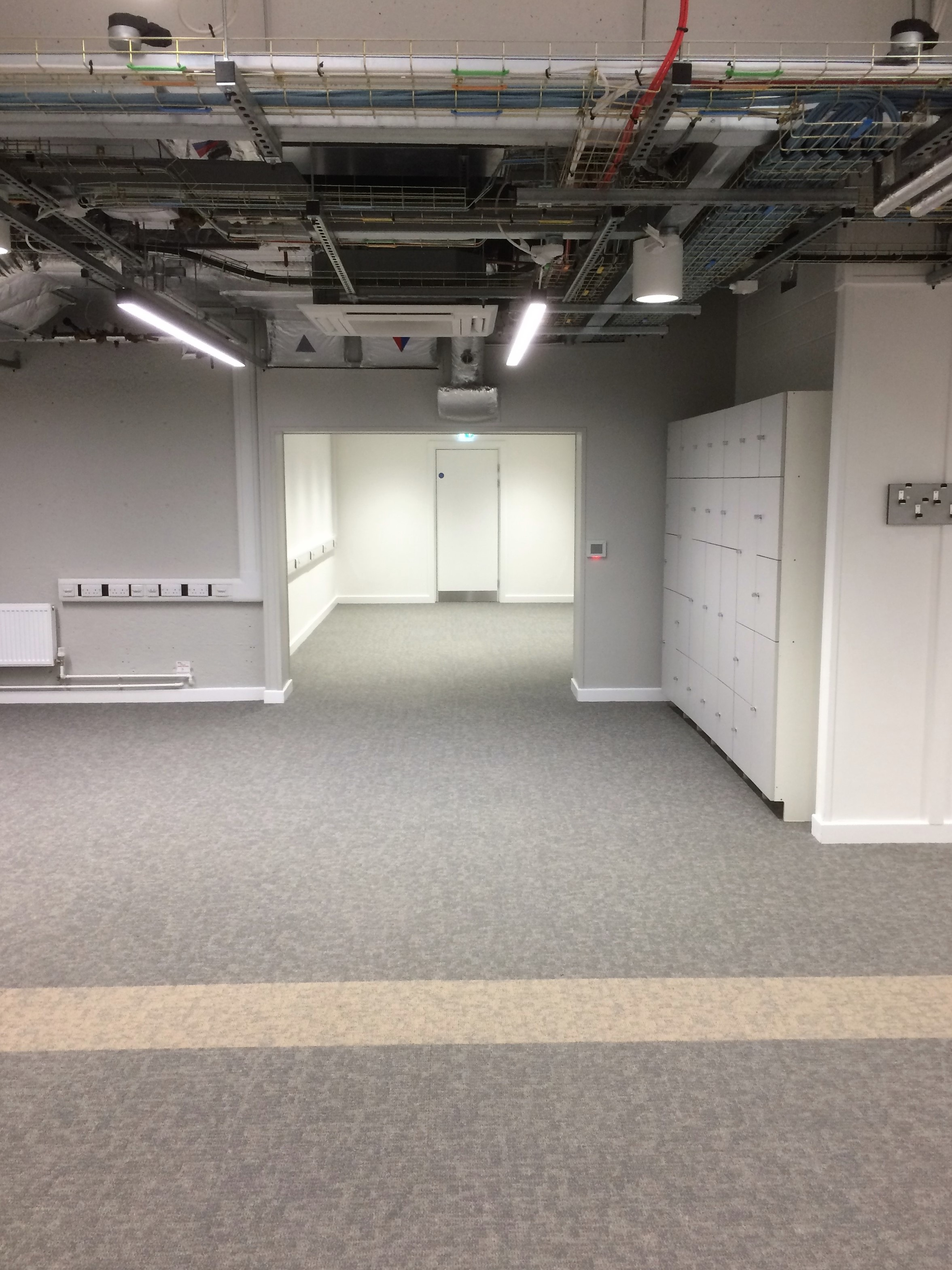 Roger Stevens, Level 5 Laboratory Refurbishment