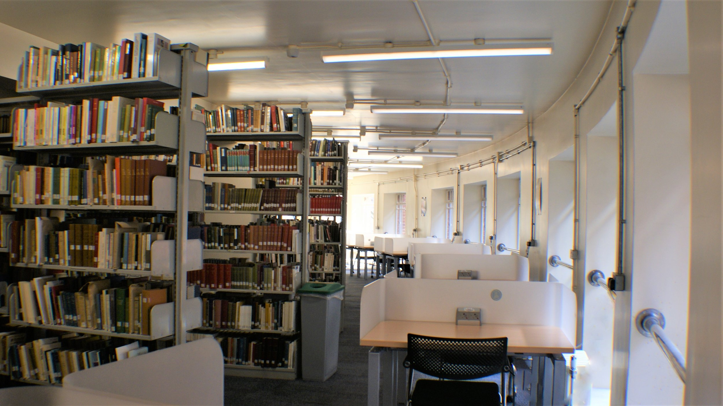 LED and New Automatic Lighting Controls to Michael Sadler & Brotherton Library