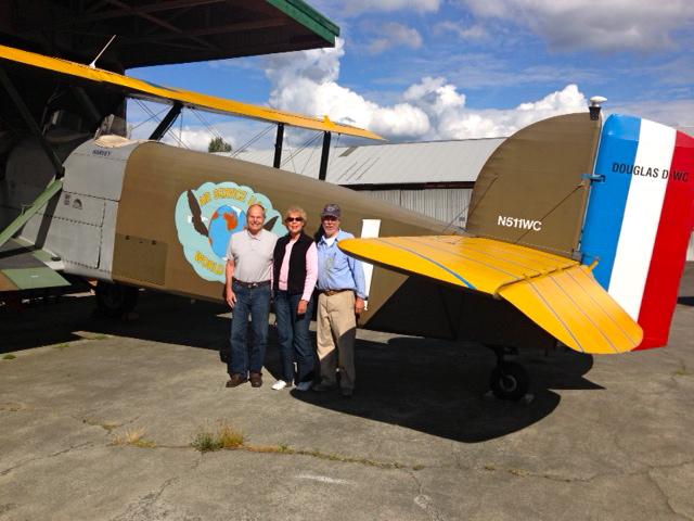 Shan & Al Blake with Bob at Renton.