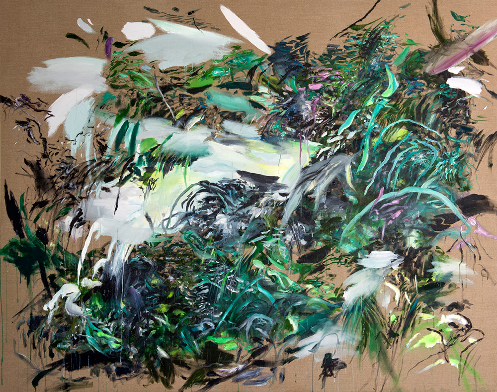 Cry Wolf    Oil on Linen   190 x 240 cm   2014