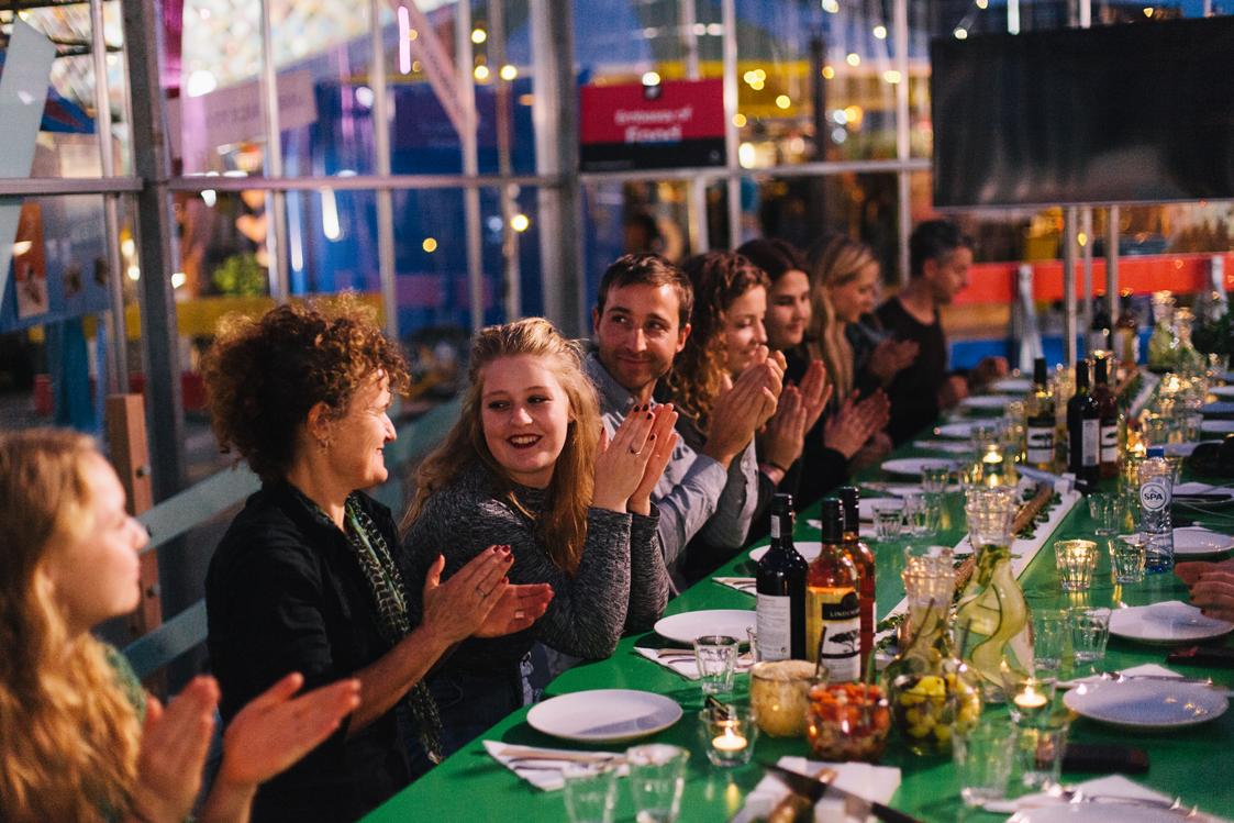 Creative Food Heroes Dinner during DDW 2017   Photo by Liset van der Laan