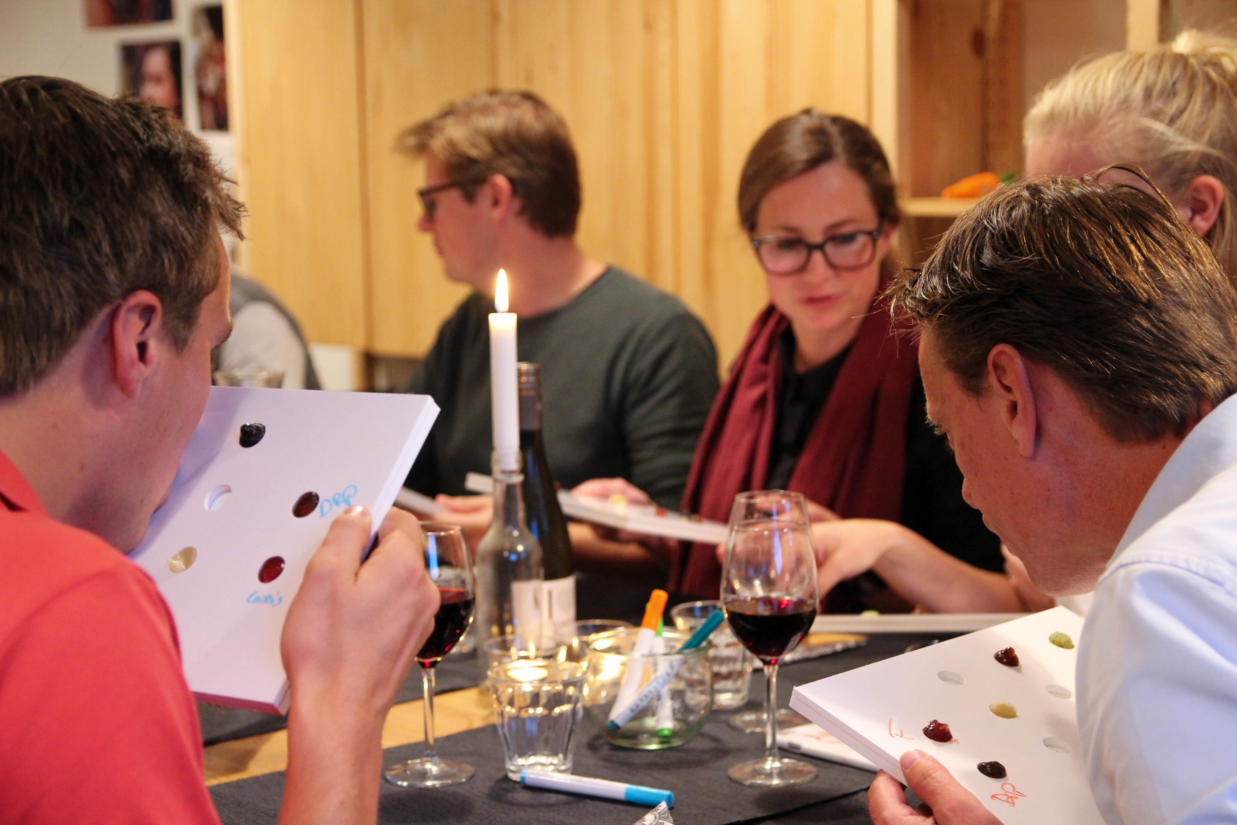 Experimental Dinners for Fresh Forward   Clients: GGZ, CocaCola, OTIB