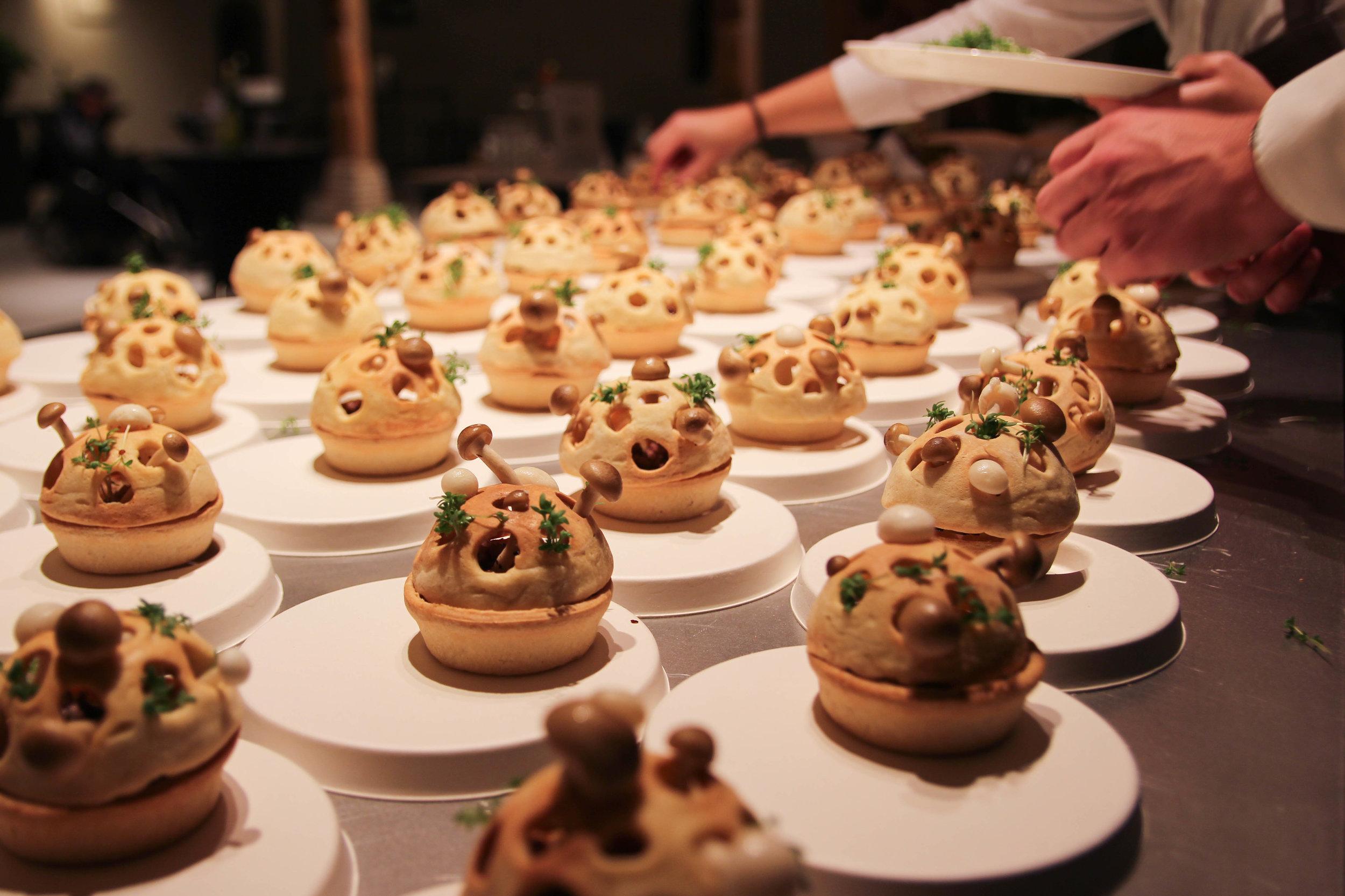 Future Food Tasting 2015  Client: Triodos Bank
