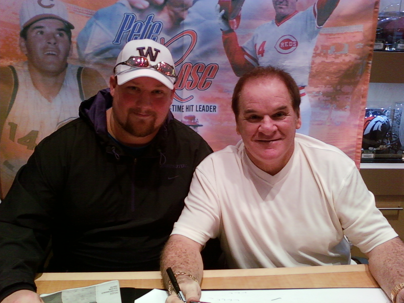 Me and Pete Rose