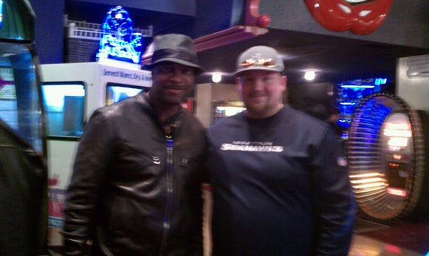 Me and Chris Tucker