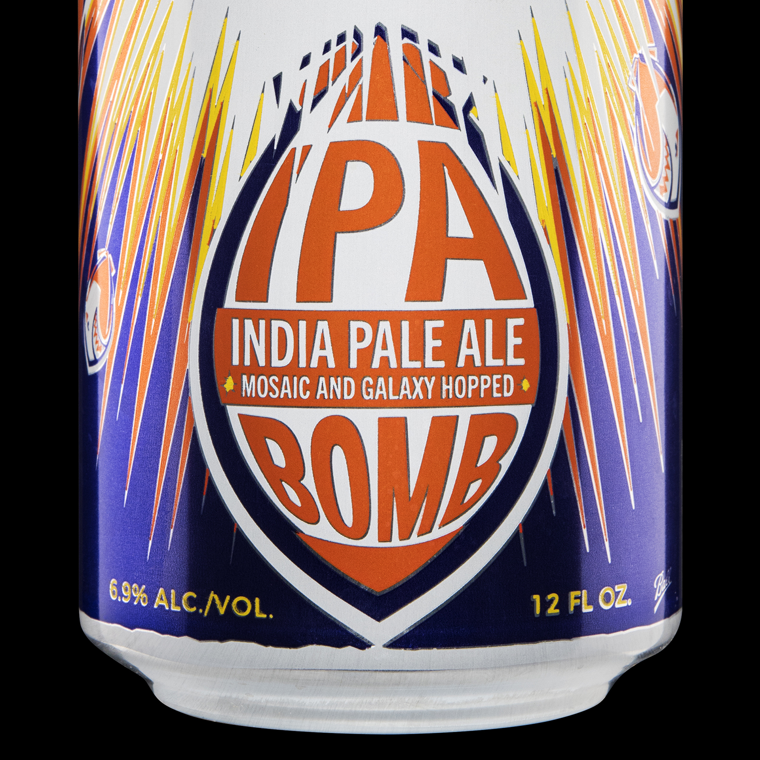 Branding and Packaging Design for Short Fuse Brewing's IPA Bomb