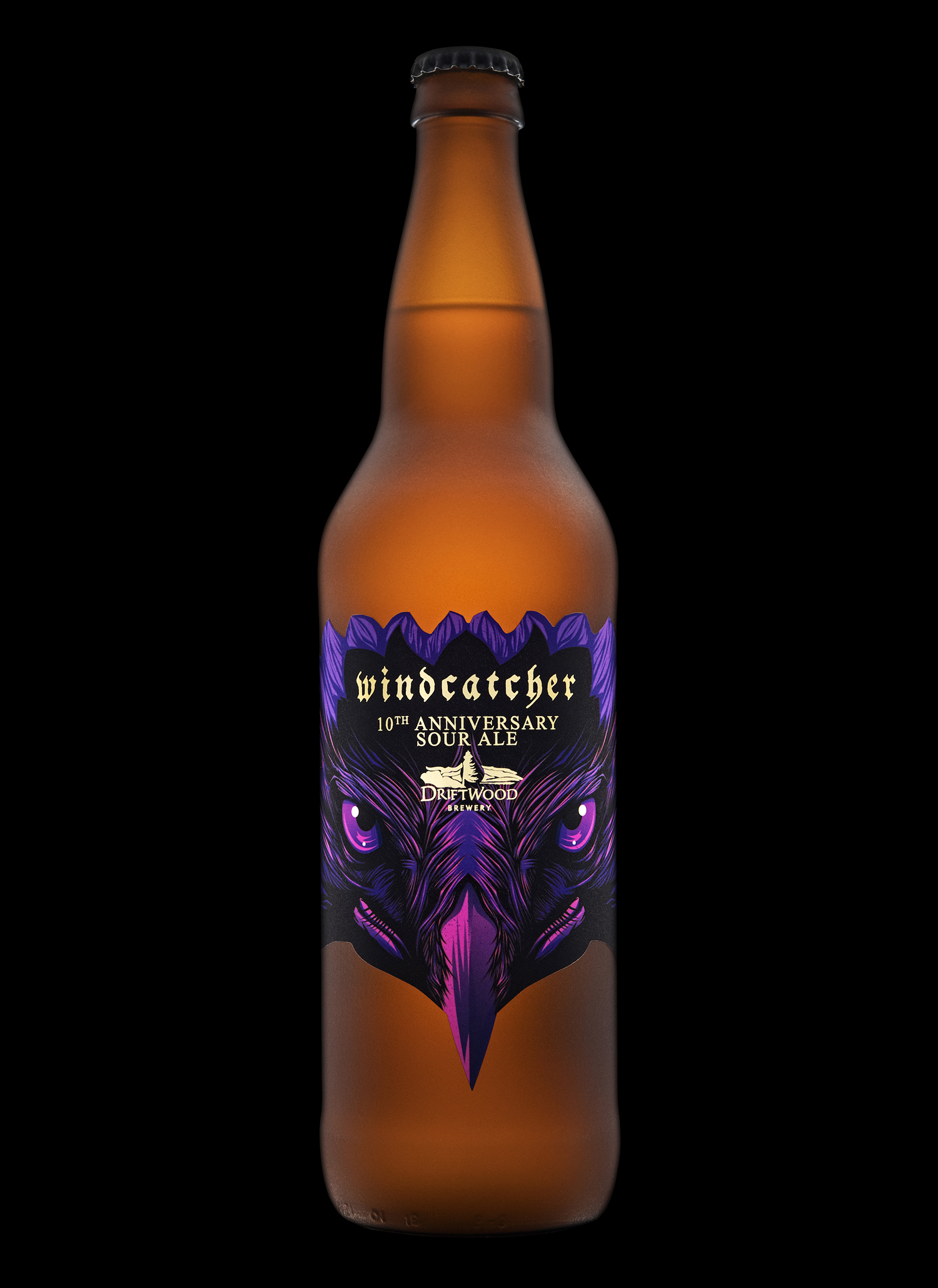 Packaging Design for Driftwood Brewery's Windcatcher Anniversary Ale