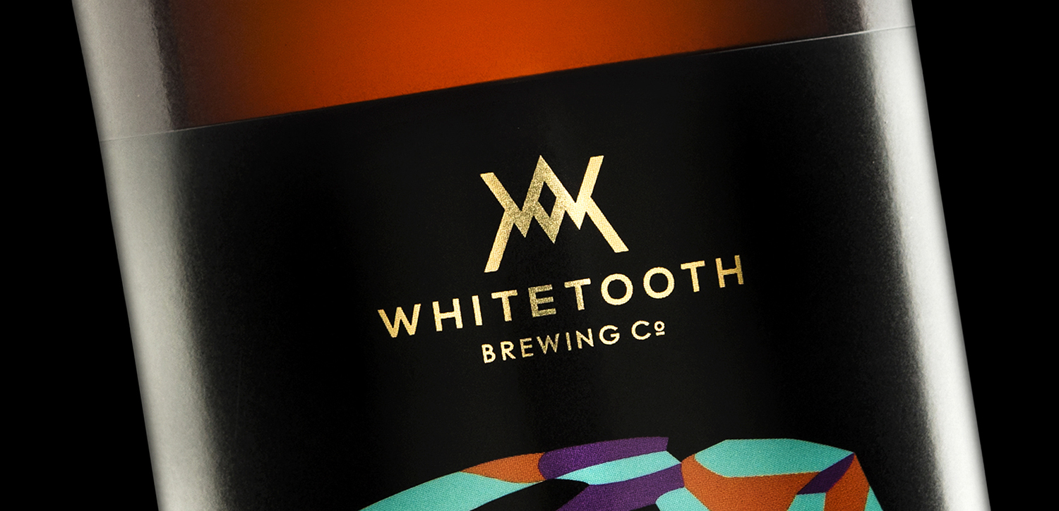 Branding and Packaging Design for Whitetooth Brewing's High Gravity Series