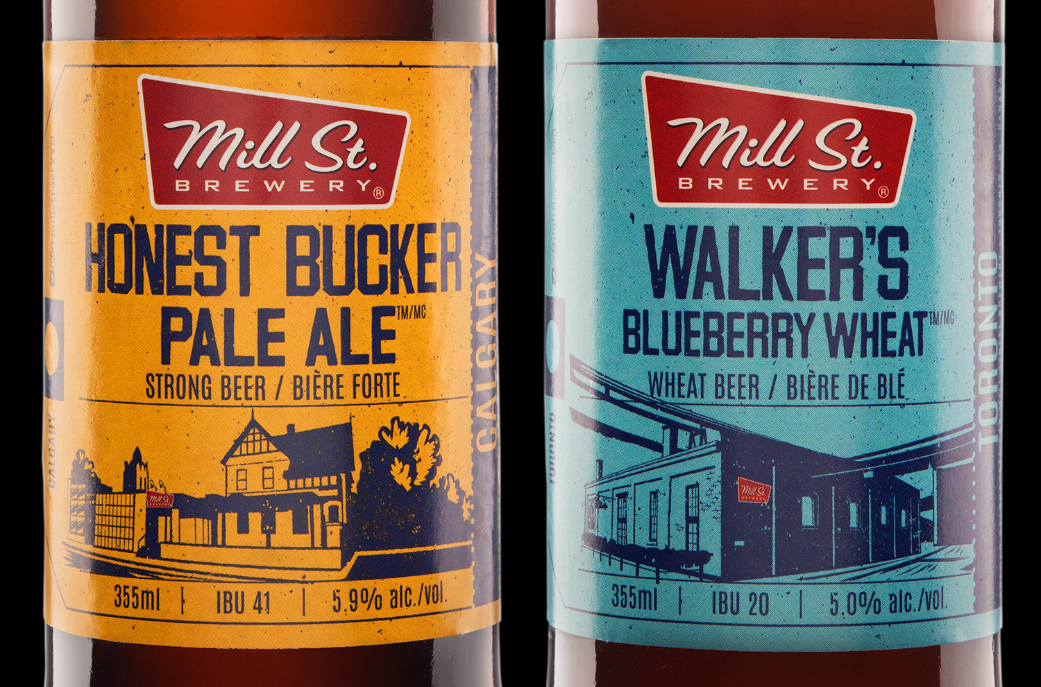 Packaging Design for Mill Street Brewing's 2017 Summer Brewpub Mixpack