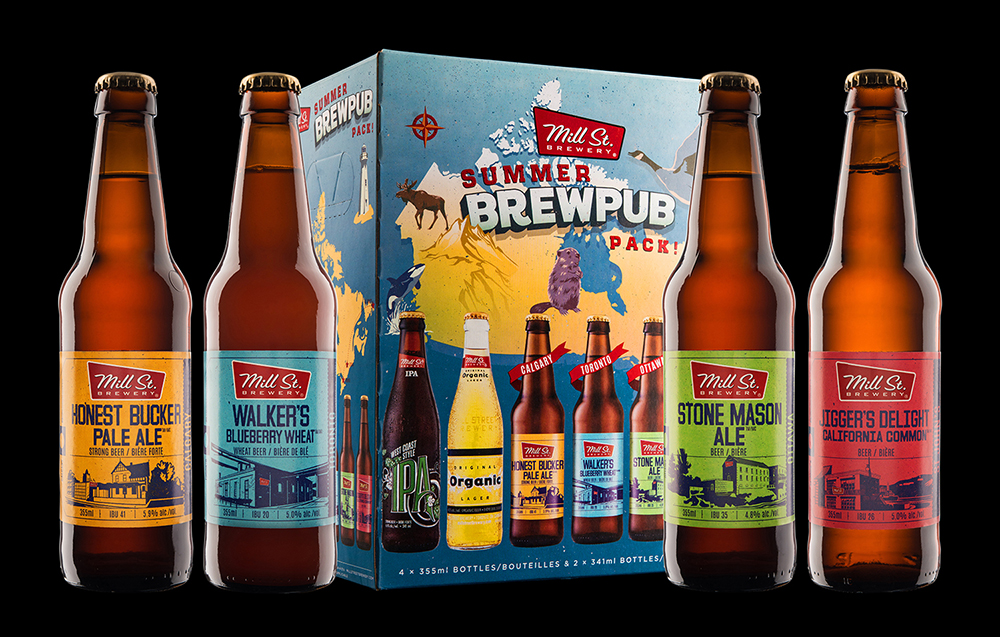 Mill St. Brewery's 2017 Summer Brewpub Mixpack