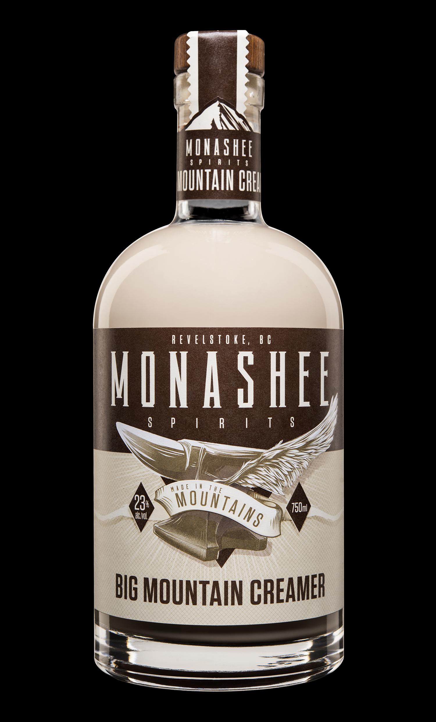 Branding and Packaging Design for Monashee Spirits