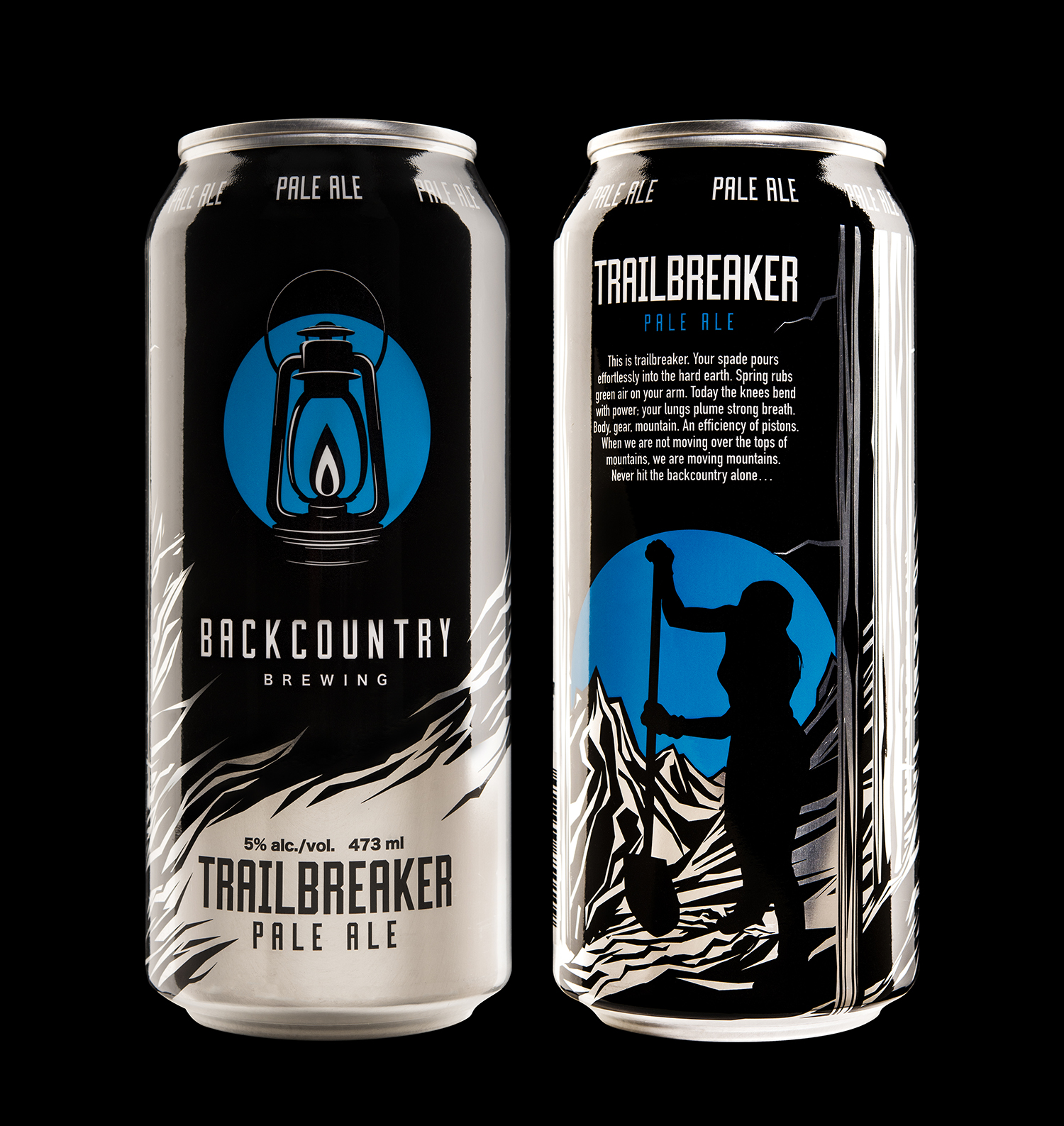 Branding and Packaging Design for Backcountry Brewing