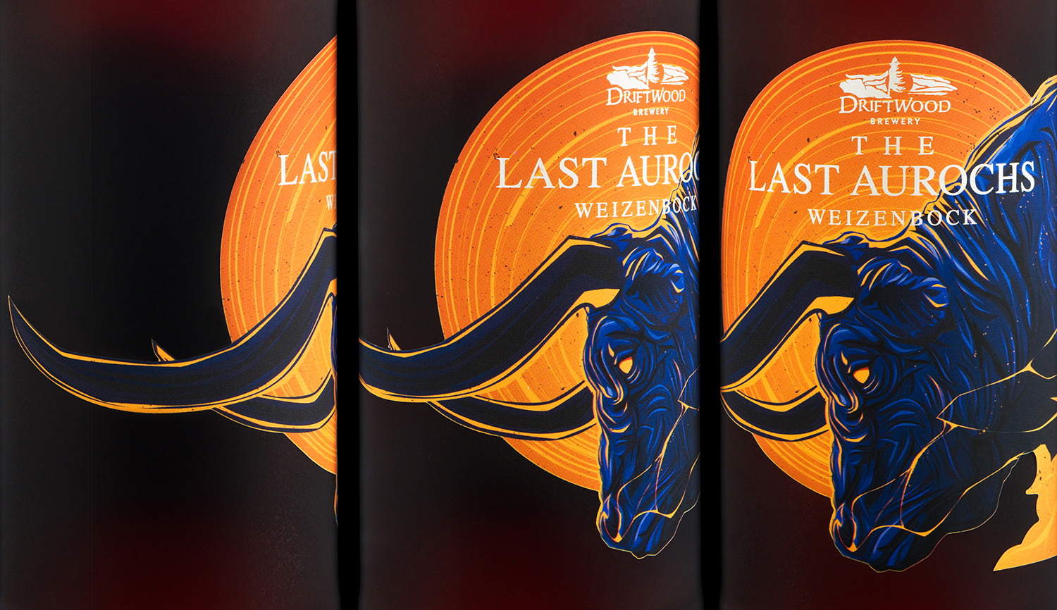 Packaging Design for Driftwood Brewery's Last Aurochs Weizenbock