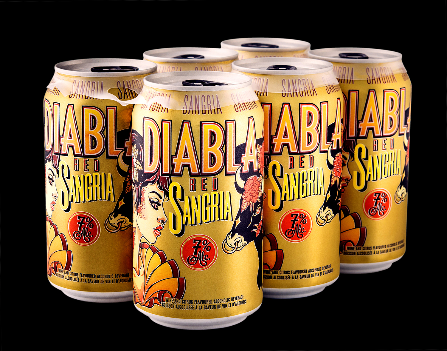 Packaging Design for Diabla Sangria