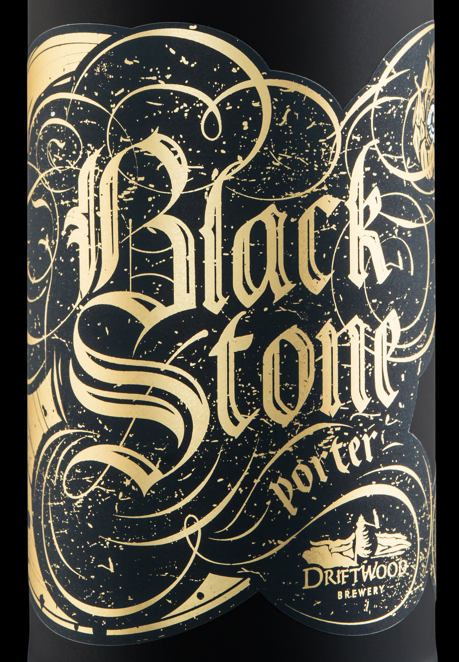 Packaging Design for Driftwood Brewery's Blackstone Porter