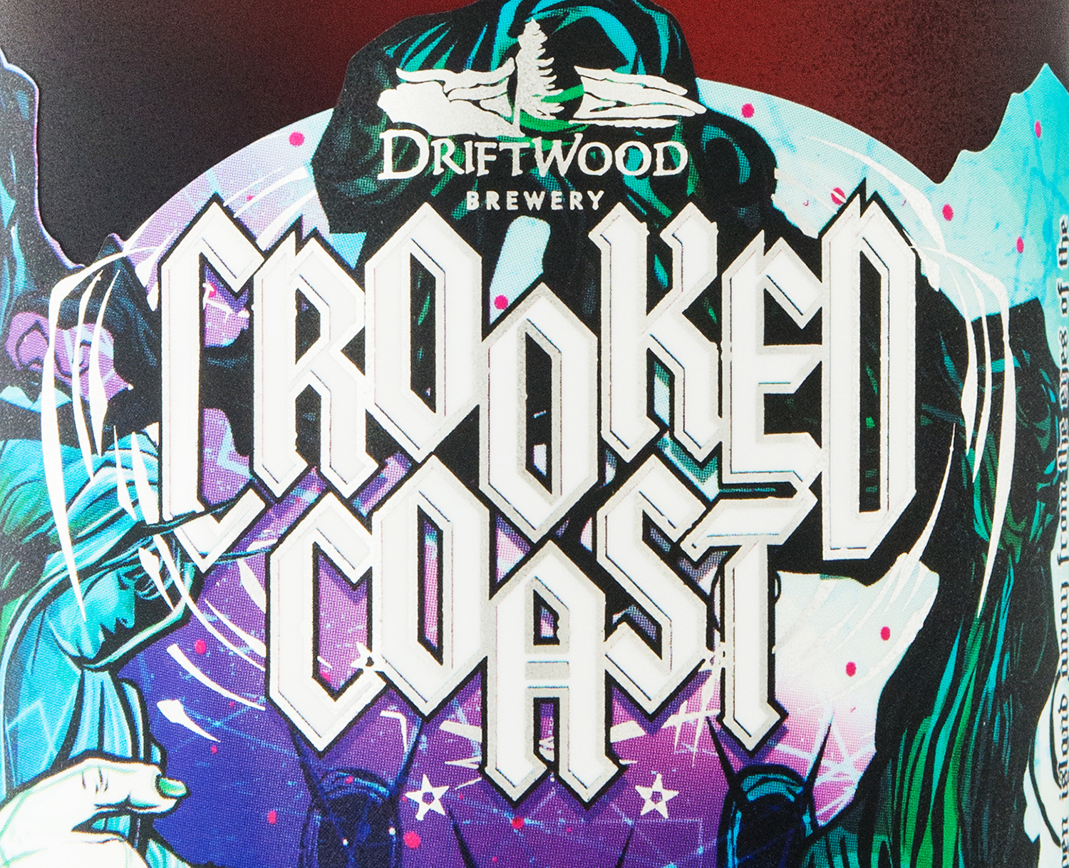 Packaging Design for Driftwood Brewery's Crooked Coast Altbier