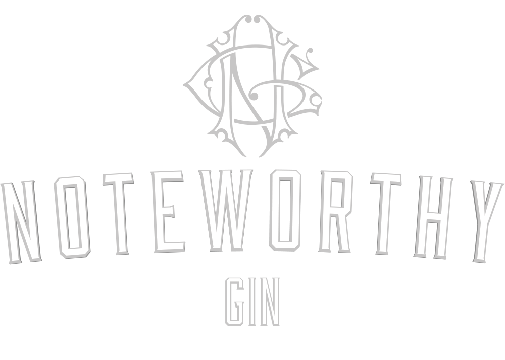 Branding Design for Dubh Glas Distillery's Noteworthy Gin